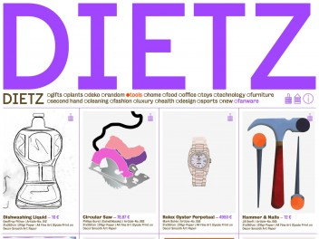 """Screenshot of """"DIETZ"""""""