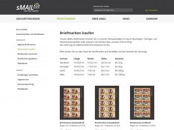 "Screenshot of ""sMAIL"""