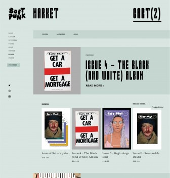 "Screenshot of ""Soft Punk Magazine"""