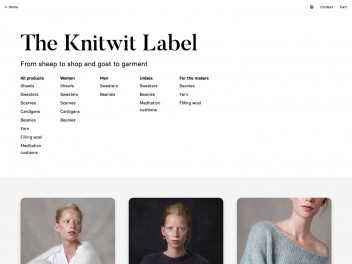 """Screenshot of """"The Knitwit Stable"""""""